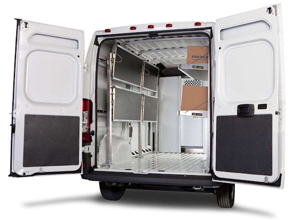 Ranger Designs Fold-Away Foldable Van Shelving