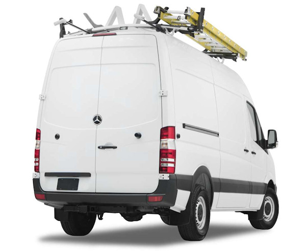 Ranger Designs Heavy Duty Aluminum Van Ladder Racks